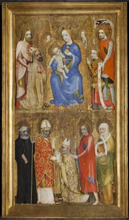 Votivní obraz arcibiskupa Jana Očka z Vlašimi