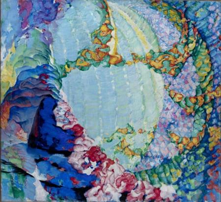 Kosmické jaro I (Barva a hloubka, Čáry - plochy - hloubka)