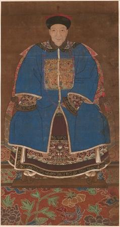 Portrét muže v zimním oděvu